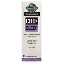 garden of life cbd sleep